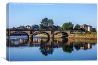 River Lune Bridge, Canvas Print