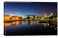 Salthouse Dock Liverpool, Canvas Print