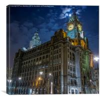 The Royal Liver Building, Canvas Print
