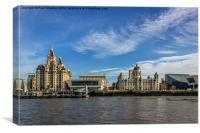 The Three Graces, Canvas Print