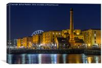 Liverpool docklands, Canvas Print