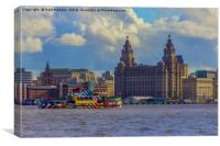 The Mersey Ferry, Canvas Print