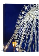 Blackpool wheel, Canvas Print