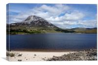 Mount Errigal, Canvas Print