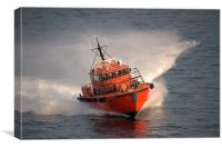 Baltic Pilot Boat At Speed, Canvas Print