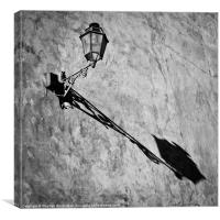 Streetlight Shadow, Canvas Print