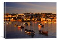 St Ives Harbour, Canvas Print
