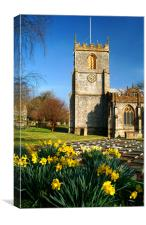St Marys Church, Chard, Somerset, Canvas Print