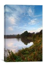 Ulley Reservoir Near Rotherham,South Yorkshire, Canvas Print