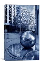 Millennium Square, Sheffield, Canvas Print