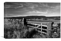 Gateway to Stanage Edge, Canvas Print