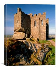 Carn Brea Castle, Canvas Print
