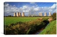 West Burton Power Stations , Canvas Print