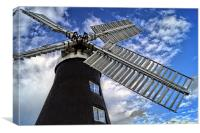 North Leverton Windmill  , Canvas Print
