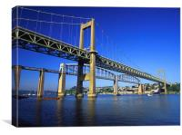 Tamar Bridges , Canvas Print
