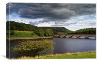 Summer at Ladybower , Canvas Print