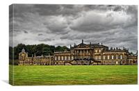 Wentworth Woodhouse , Canvas Print