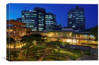 Ayala Center Cebu City, Canvas Print