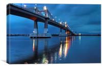 Marcelo Fernan Bridge , Canvas Print