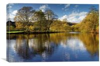 Derwent Reflections , Canvas Print