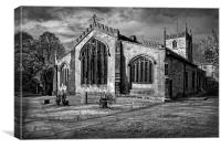 St James Church, Norton, Sheffield , Canvas Print