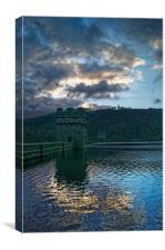Derwent Blues, Canvas Print