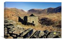 Abandoned Barn,Kirkstone Pass,Lake District       , Canvas Print