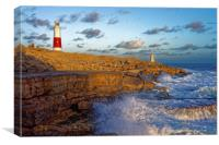 Portland Bill Lighthouse                          , Canvas Print