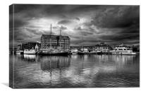 Gloucester Docks                               , Canvas Print