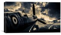 Pining Spitfire, Canvas Print