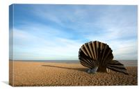 The Scallop, Canvas Print