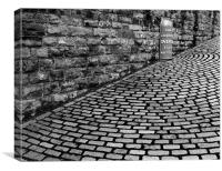 Bricks, Canvas Print