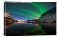 Reflections of Aurora, Canvas Print