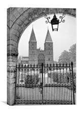 Southwell Minster, Canvas Print
