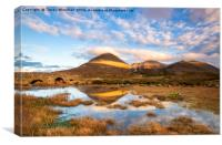 Sligachan Stripe, Canvas Print