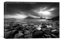 Dramatic Elgol, Canvas Print