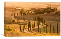 Sunset at the Agriturismo Baccoleno, Canvas Print