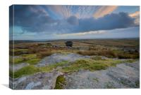 The Cheesewring Bodmin Moor, Canvas Print