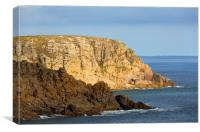 Porthgwarra Coast, Canvas Print