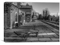 Train Station, Canvas Print