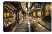 The Little Shambles York, Canvas Print