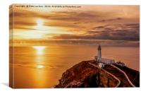 South Stack Anglesey, Canvas Print
