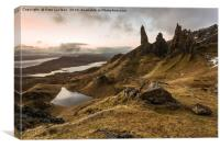 Old Man of Storr Sunrise, Canvas Print