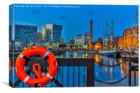 Albert Dock, Liverpool, Canvas Print