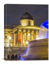 National Gallery, Canvas Print
