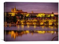 Prague Castle, Canvas Print