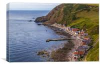 Crovie, Canvas Print
