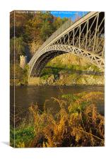 Craigellachie Bridge, Canvas Print