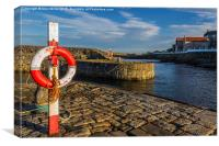 Portsoy Harbour, Canvas Print