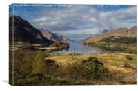 Glenfinnan Monument, Canvas Print